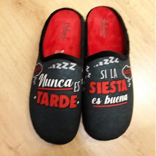 Zapatillas abiertas, nunca es tarde si la siesta es buena