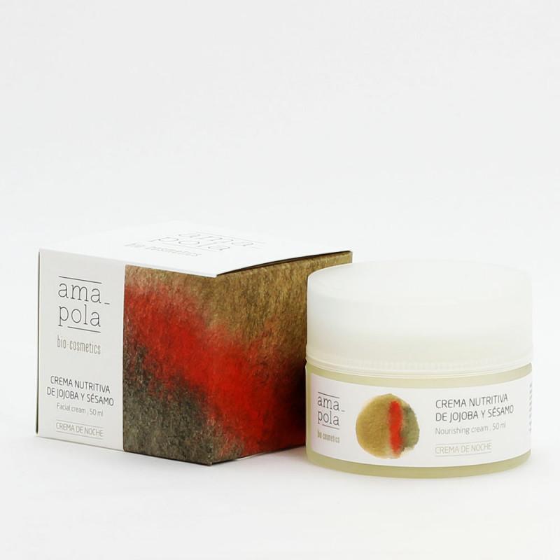 Crema Nutritiva de Jojoba y Sésamo · Cosmética ecológica