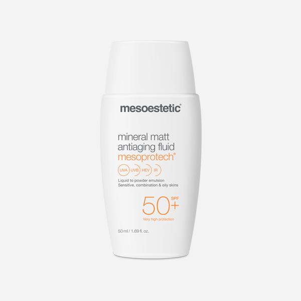 Mesoprotech mineral matt antiaging fluid