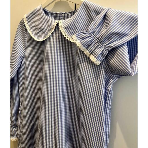 Vestido Vichy Azul [3]