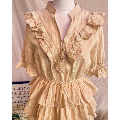Vestido Mía Beige [1]