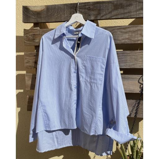 Camisa rayas azul [2]