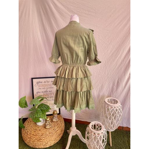 Vestido Mía verde [1]
