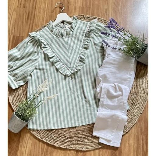 Camisa Jardín
