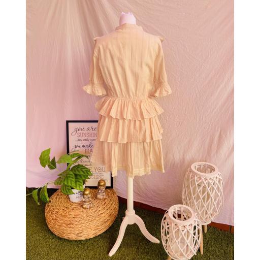 Vestido Mía Beige [2]