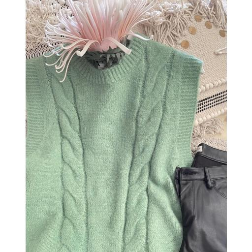 Chaleco ochos Verde [3]