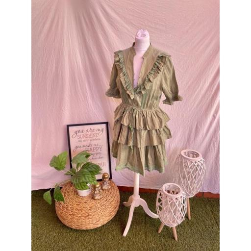Vestido Mía verde