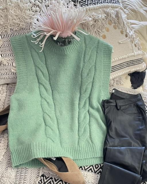 Chaleco ochos Verde