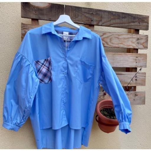 Camisa Cuadros Azul [1]