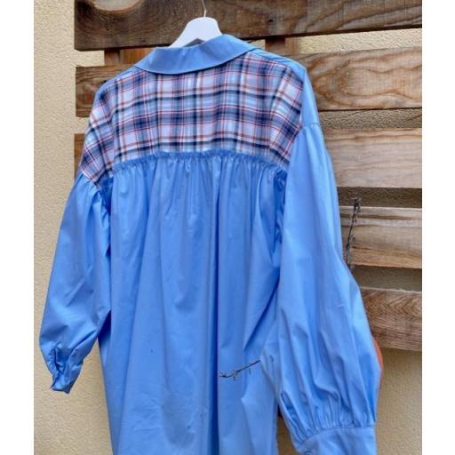 Camisa Cuadros Azul [2]