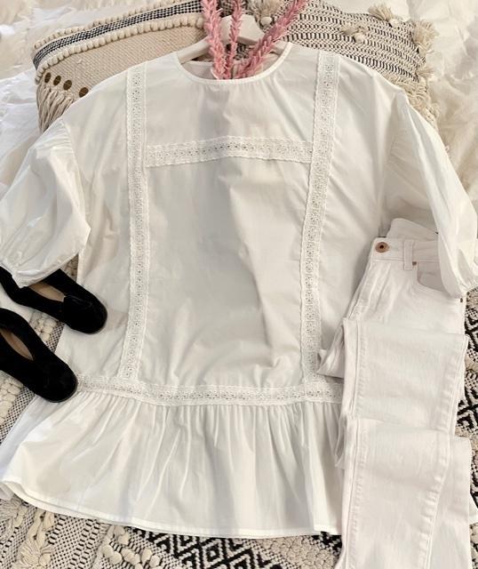 Camisa Laura Blanca