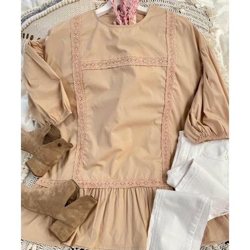 Camisa Laura Camel