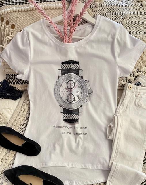 Camiseta Reloj