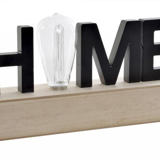 DECORACIÓN LUMINOSA LED 34X8X16 HOME (ITEM INTERNATIONAL)