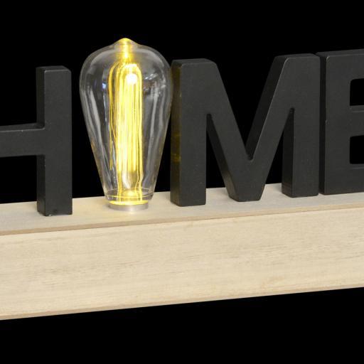 DECORACIÓN LUMINOSA LED 34X8X16 HOME (ITEM INTERNATIONAL) [1]