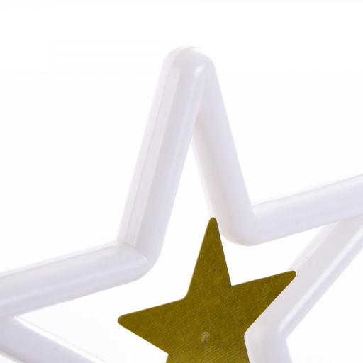 DECORACION LUMINOSA LED ESTRELLA 15,5X6X18 (ITEM INTERNATIONAL) [3]