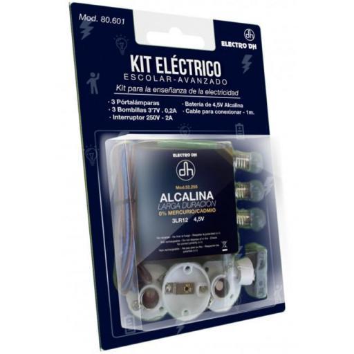 Kit eléctrico escolar avanzado (Electro DH 80.601)