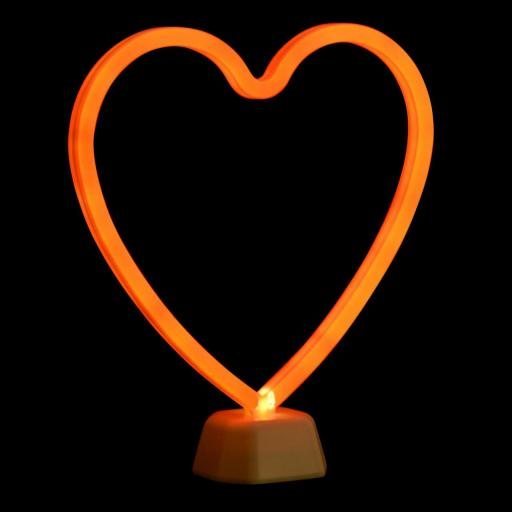LAMPARA CORAZON LED - ITEM INTERNATIONAL [2]