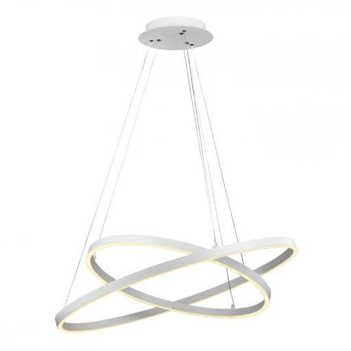 LAMPARA DE TECHO COLGANTE LED 74W 3000K 120º 230V BLANCO [0]