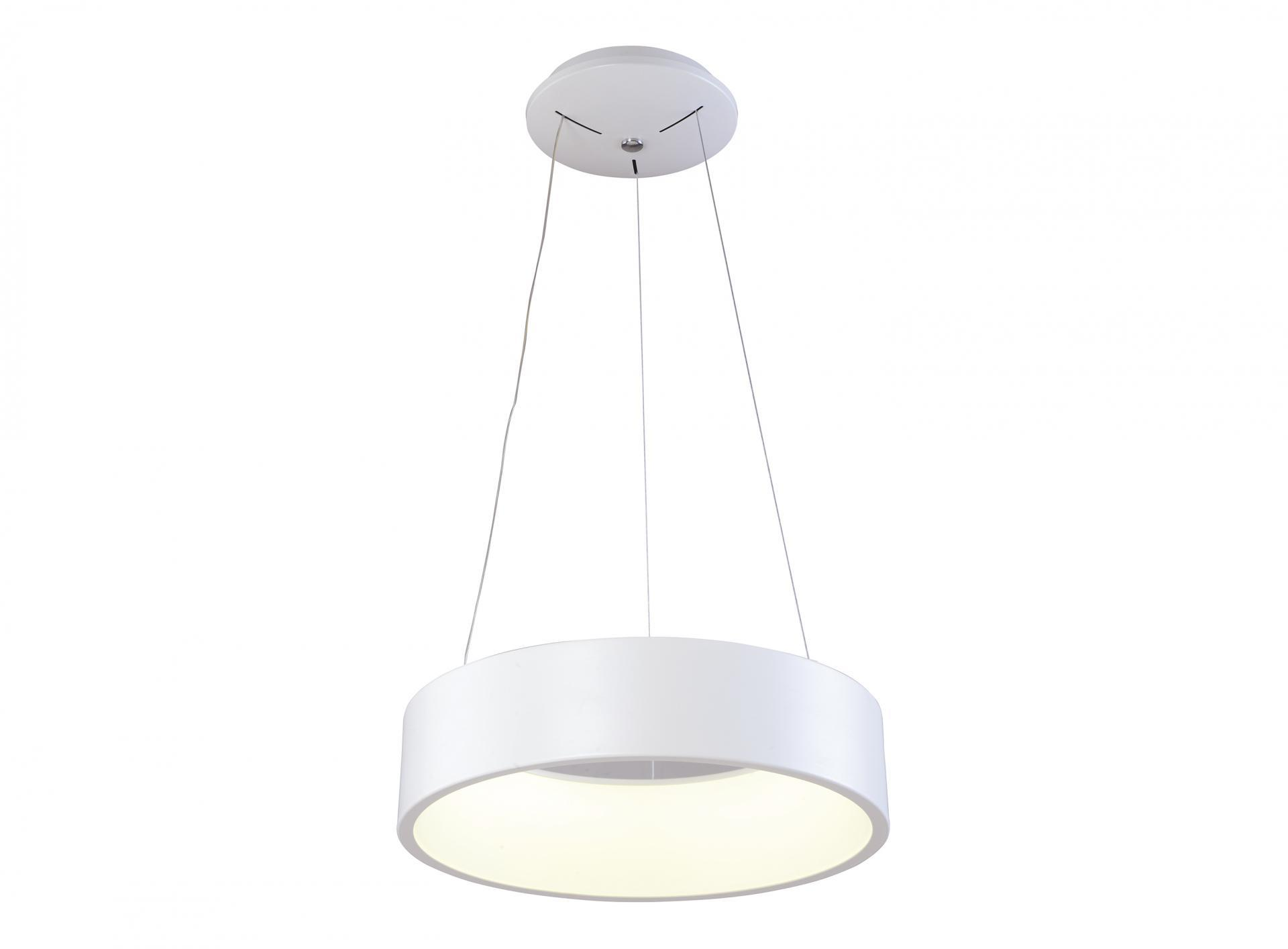 LAMPARA DE TECHO LED COLGANTE  36W 3000K 180º 230V BLANCO