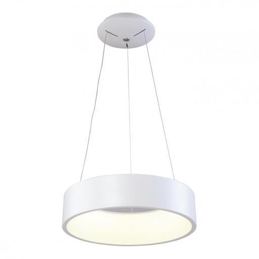 LAMPARA DE TECHO LED COLGANTE  36W 3000K 180º 230V BLANCO [0]