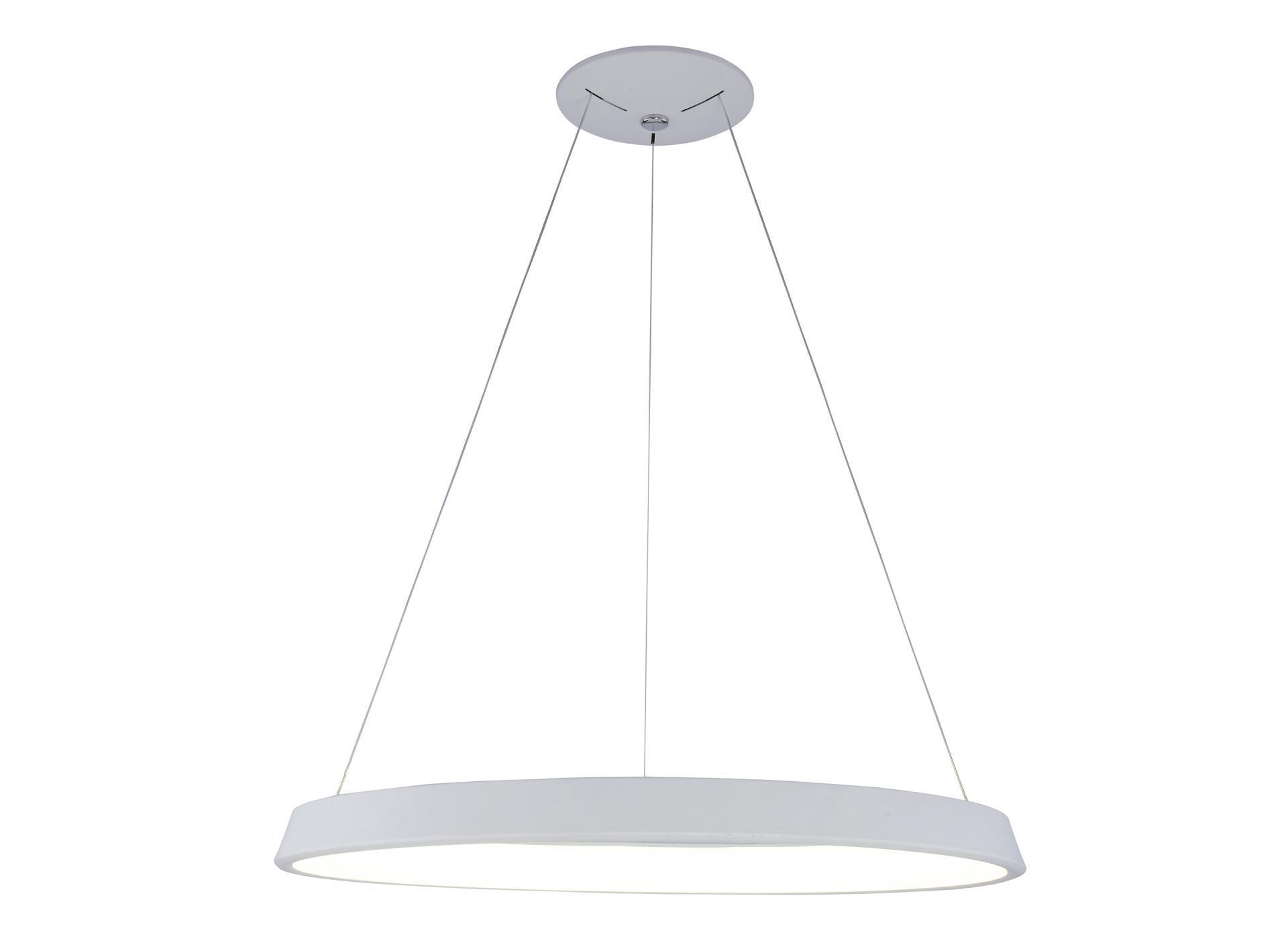 LAMPARA DE TECHO LED COLGANTE 42W 3000K 180º 230V BLANCO