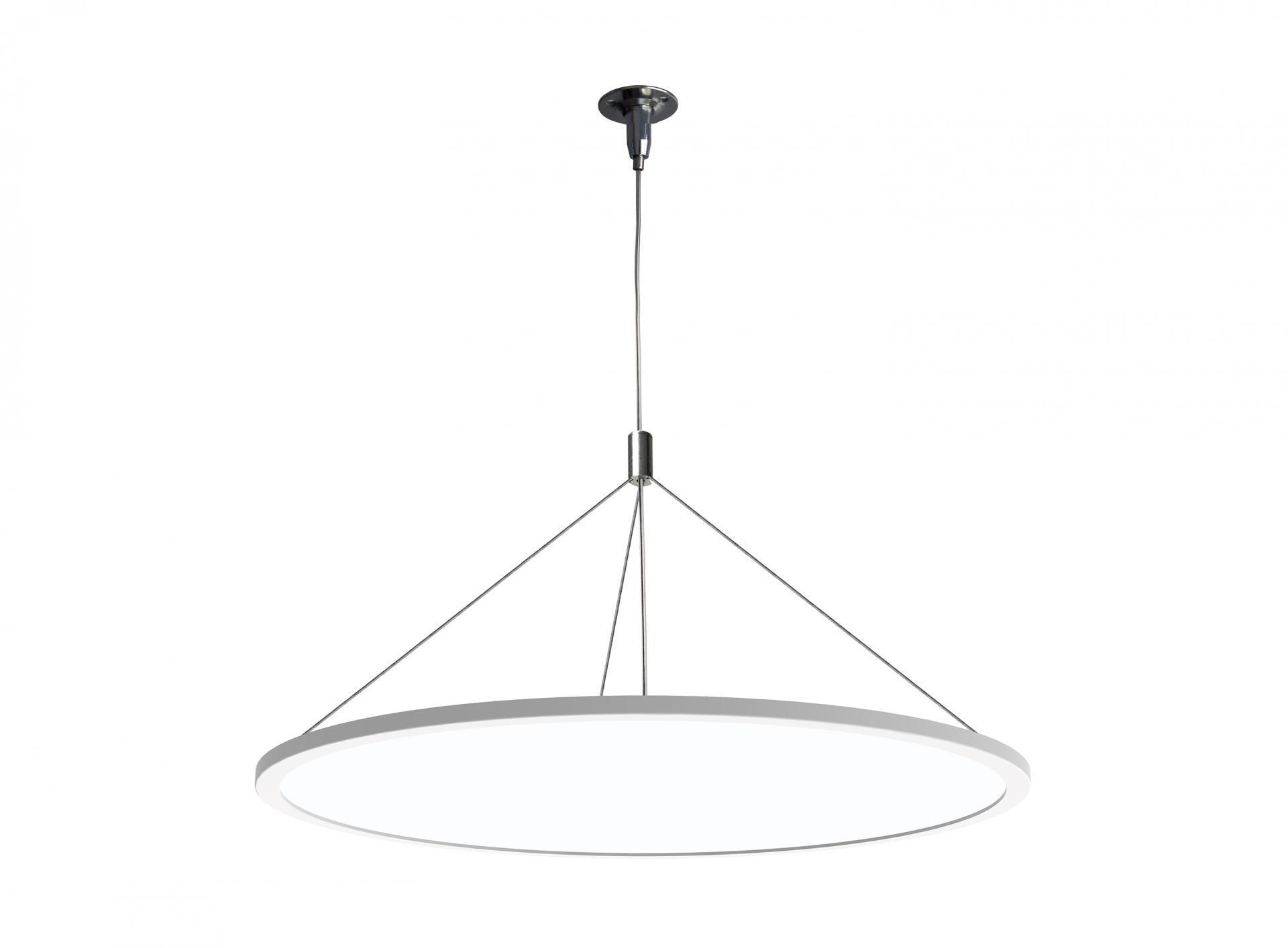LAMPARA DE TECHO LED COLGANTE 48W 3000K 120º 230V BLANCO