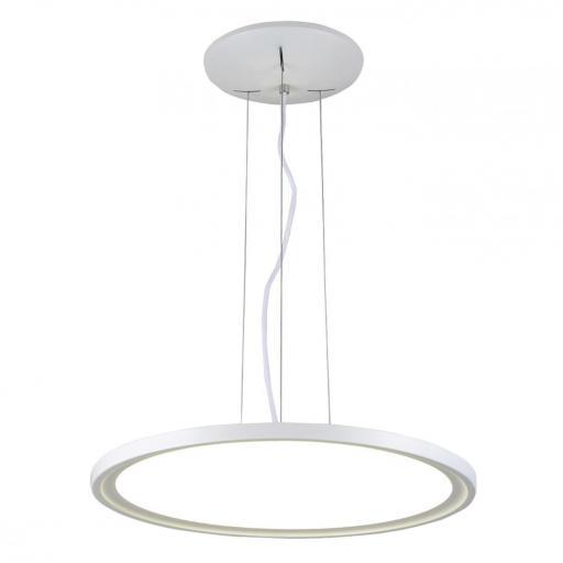 LAMPARA DE TECHO LED  COLGANTE REGULABLE EN TONO E INTENSIDAD 36W 3000-6500K 180º 230V BLANCO