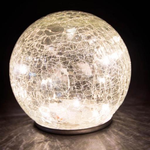 LAMPARA LED CRISTAL CRAQUELADO (ITEM INTERNATIONAL) [1]