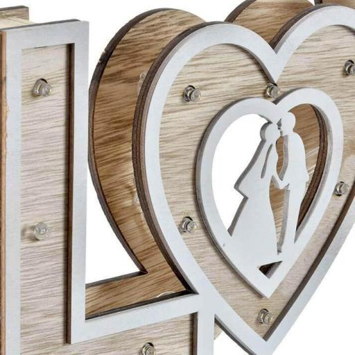 LAMPARA MADERA LOVE LED ( ITEM INTERNATIONAL) [2]