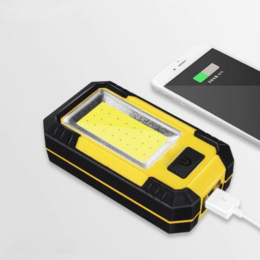 Linterna LED Surfled con Gancho e Imán IP65 + Función Power Bank [2]