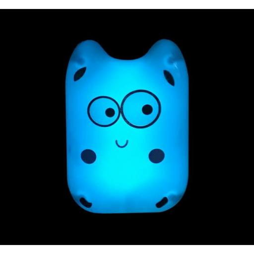 Luz de noche infantil monstruo azul (f-bright) [0]