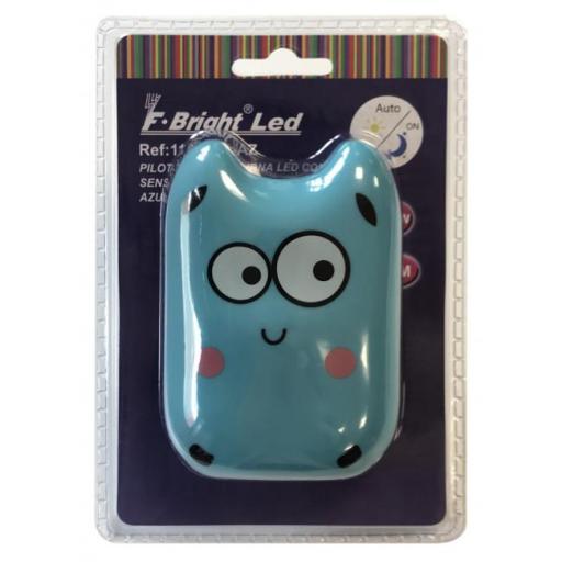 Luz de noche infantil monstruo azul (f-bright) [1]