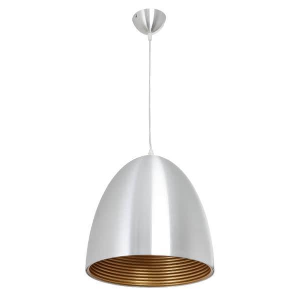 Colgante Alvaro 1xe27 Aluminio 28x30d