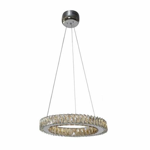 LAMPARA LED 18W CRISTAL K9 ALBA (CRISTAL RECORD)