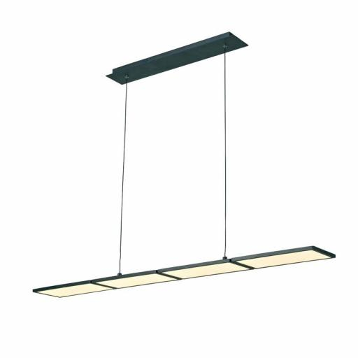 LAMPARA LED 60W, 3000K DIMMABLE NEW OR NEGRO (CRISTAL RECORD)