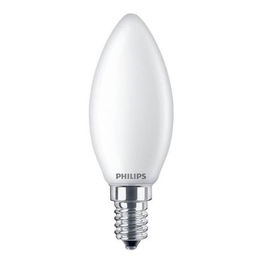 PHILIPS CANDLE  E14 4,3W OPACO