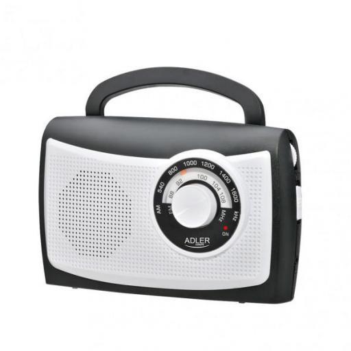 Radio Fm/am Antena Incorporada Salida Auriculares Regulador Tuning Control Volumen Cable (FABRILAMP)