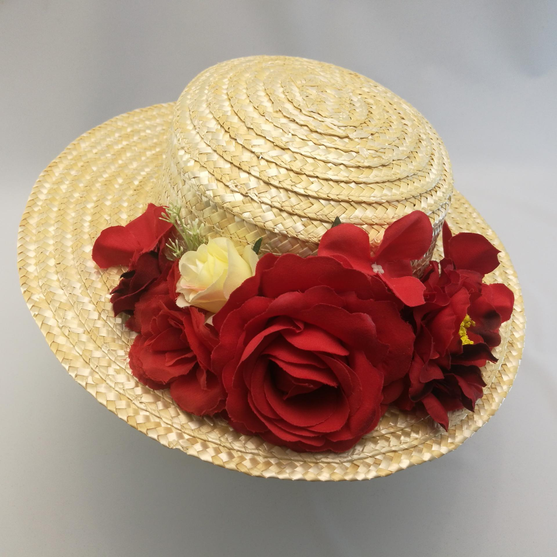 Canotier red