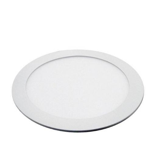 DOWNLIGHT LED 18w 1480lm REDONDO 3000K BLANCO  [0]