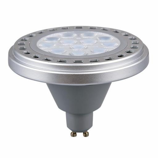LÁMPARA AR111 LED GU10 12 W 880 LM 3000ºK