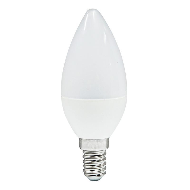 LÁMP. VELA LED E14 7 W 550 LM 6000ºK