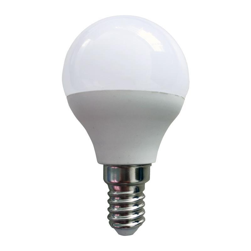 LÁMP. ESFÉRICA LED E14 5 W 380 LM 4500ºK