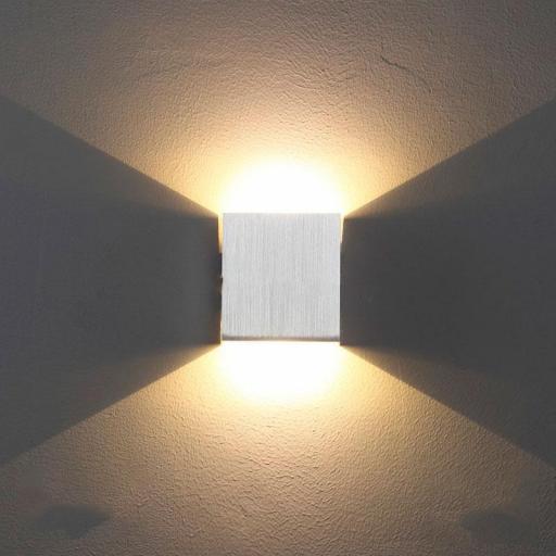 APLIQUE LED SUPERFICIE 2 SALIDAS 6 W [1]