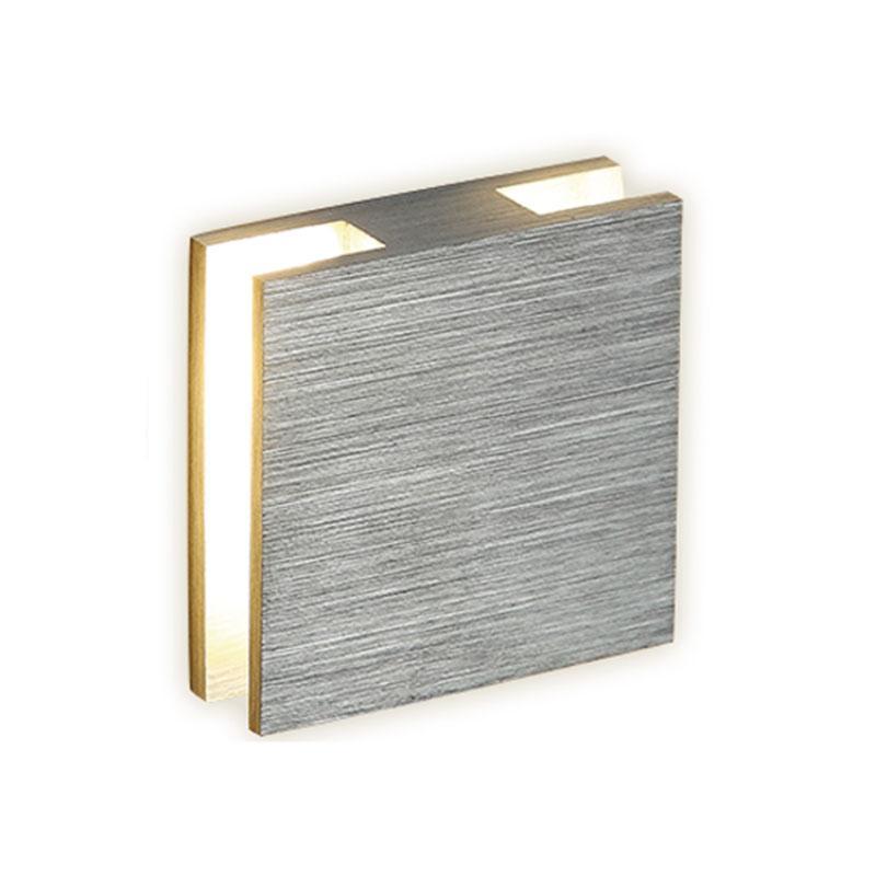 APLIQUE LED EMPOTRAR 2 SALIDAS 3 W