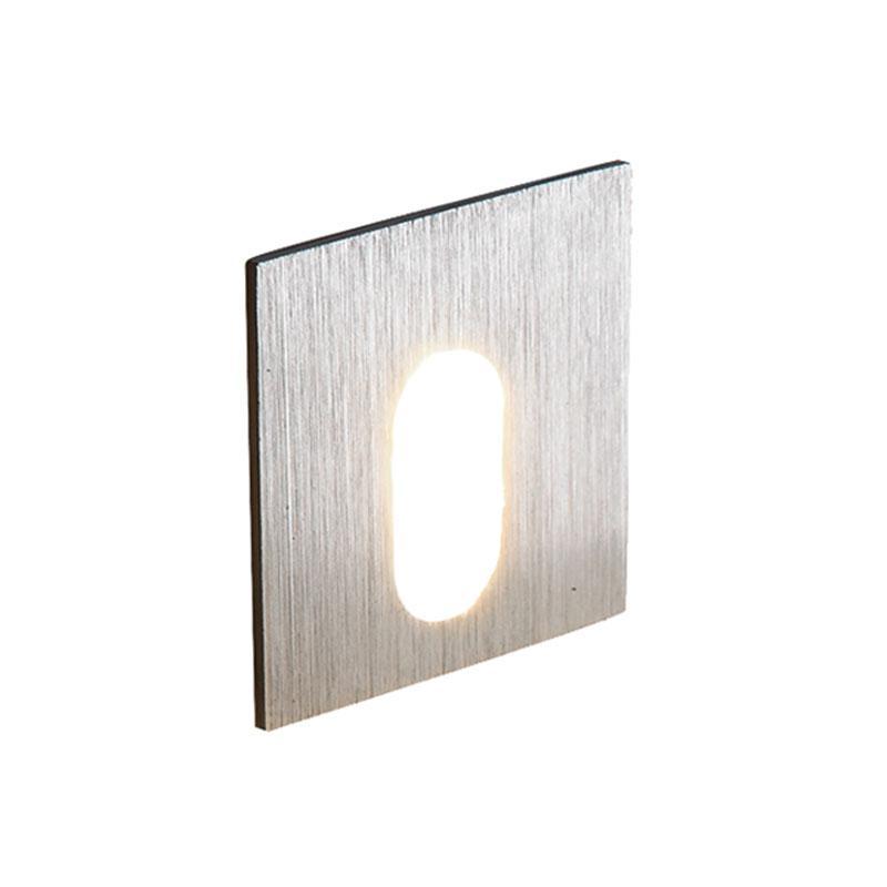 APLIQUE LED EMPOTRAR CUADRADO 3 W