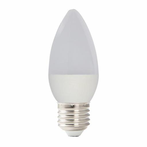LÁMP. VELA LED E27 5 W 350 LM 6000ºK
