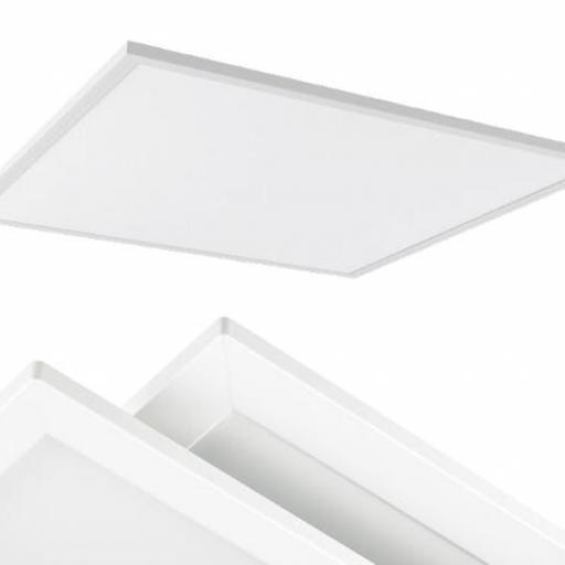 PANEL LED TECHO 60X60 CM 42 W 5000ºK PERFIL BLANCO