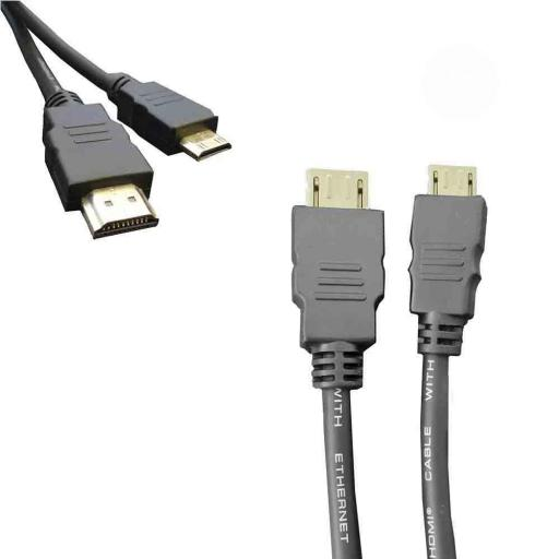 CABLE HDMI MACHO A MINI HDMI MACHO 1.5M