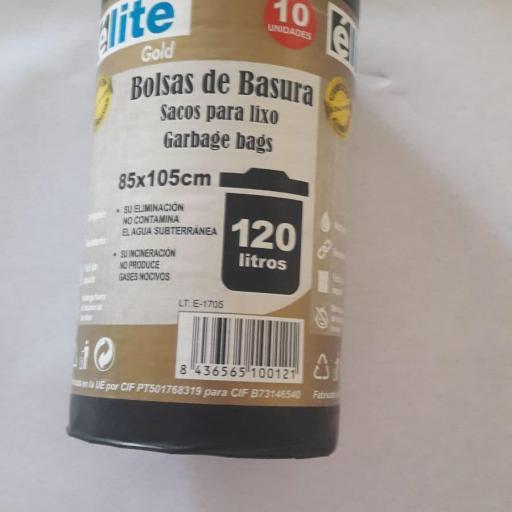 BOLSA DE BASURA COMUNIDAD NEGRA GOLD 85X105 G-100 10 UND/ROLLO 30R/CAJA